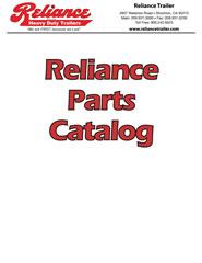 Reliance Trailer Parts Catalog